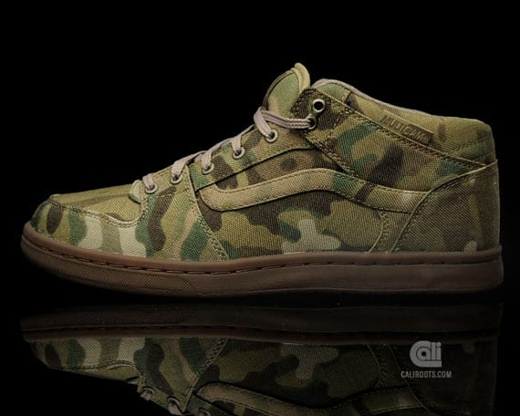 Vans Syndicate TNT II Mid Cup S – Camouflage, Zapas News