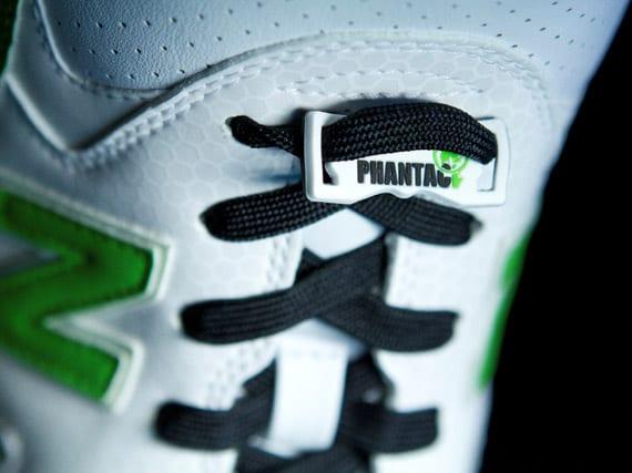 PHANTACi x New Balance MT580GH – Blanco – Verde Neon, Zapas News