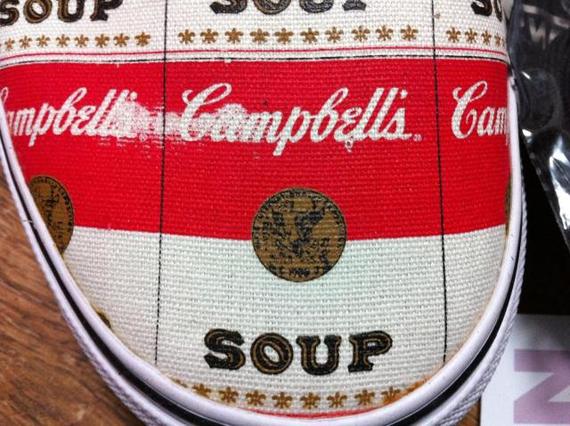 Supreme x Vans Authentic 'Campbell Soup', Zapas News