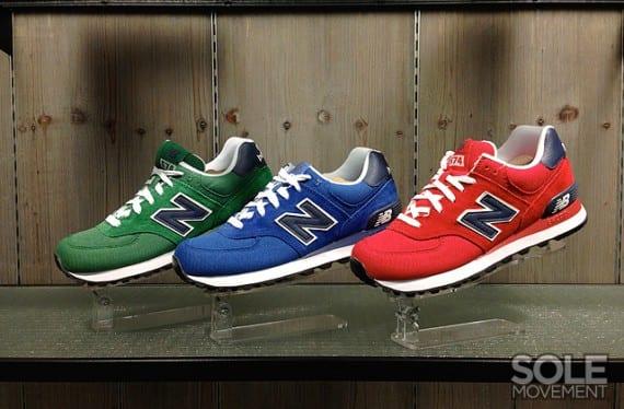 "New Balance 574 ""CVF Pack"", Zapas News"