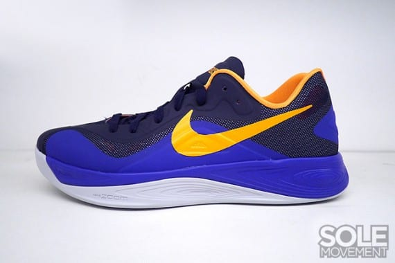 Nike Zoom Hyperfuse 2012 Low – Azul Oscuro – Amarillo, Zapas News