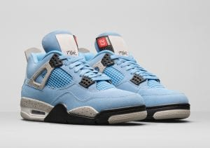 zapas news air jordan 4 retro unc