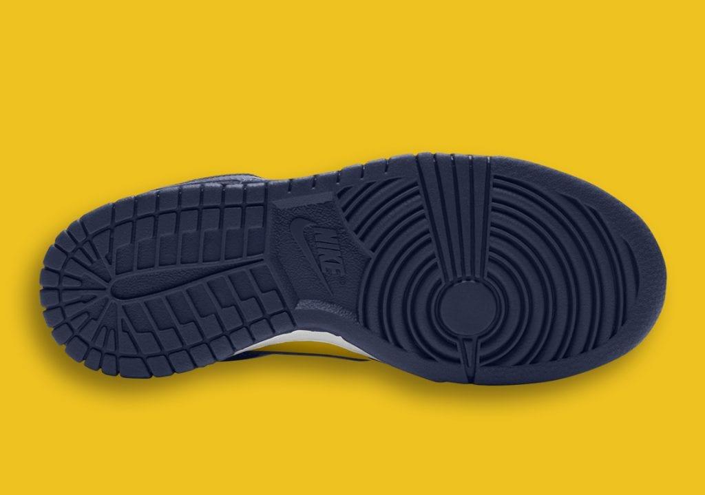 Nike Dunk Low «Michigan» para 2021 – Primeras Imágenes, Zapas News
