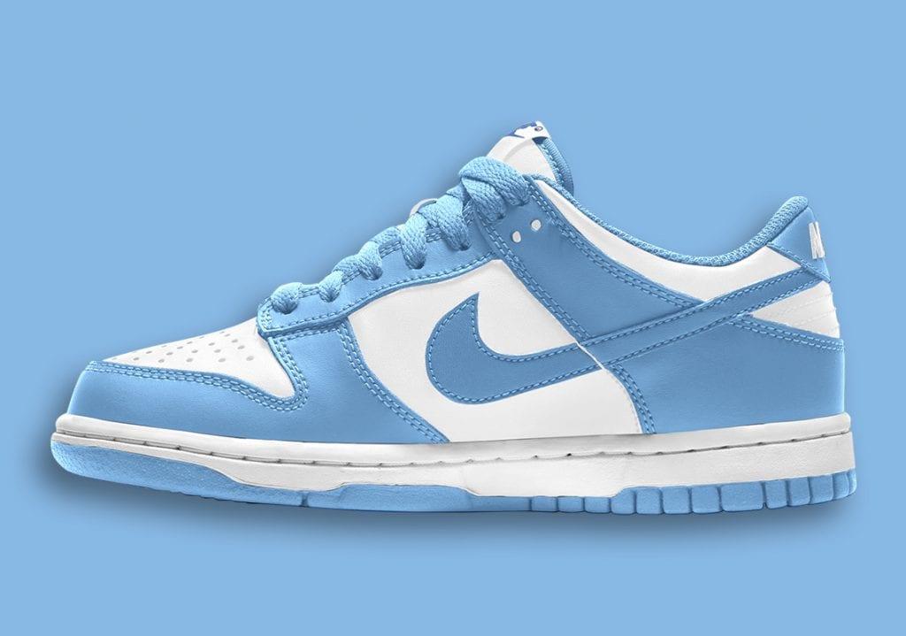 Primeras imágenes de las Nike dunk low «University Blue», Zapas News