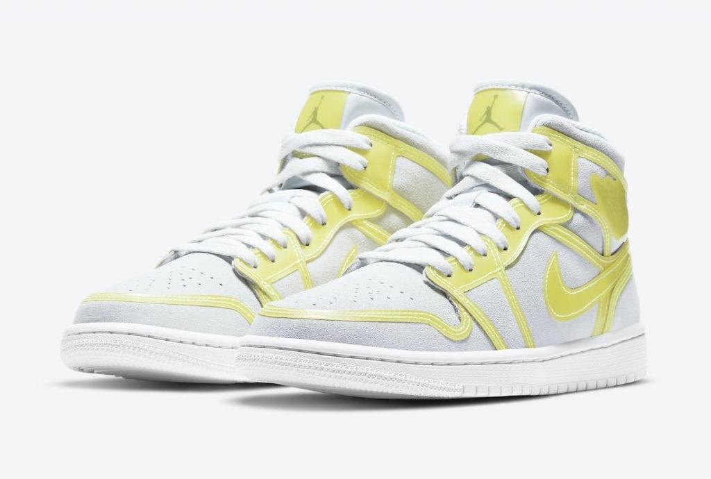 """Air Jordan 1 Mid LX """"Opti Yellow"""""""