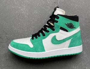 "Imágenes De Las Air Jordan 1 Zoom CMFT ""Stadium Green"""