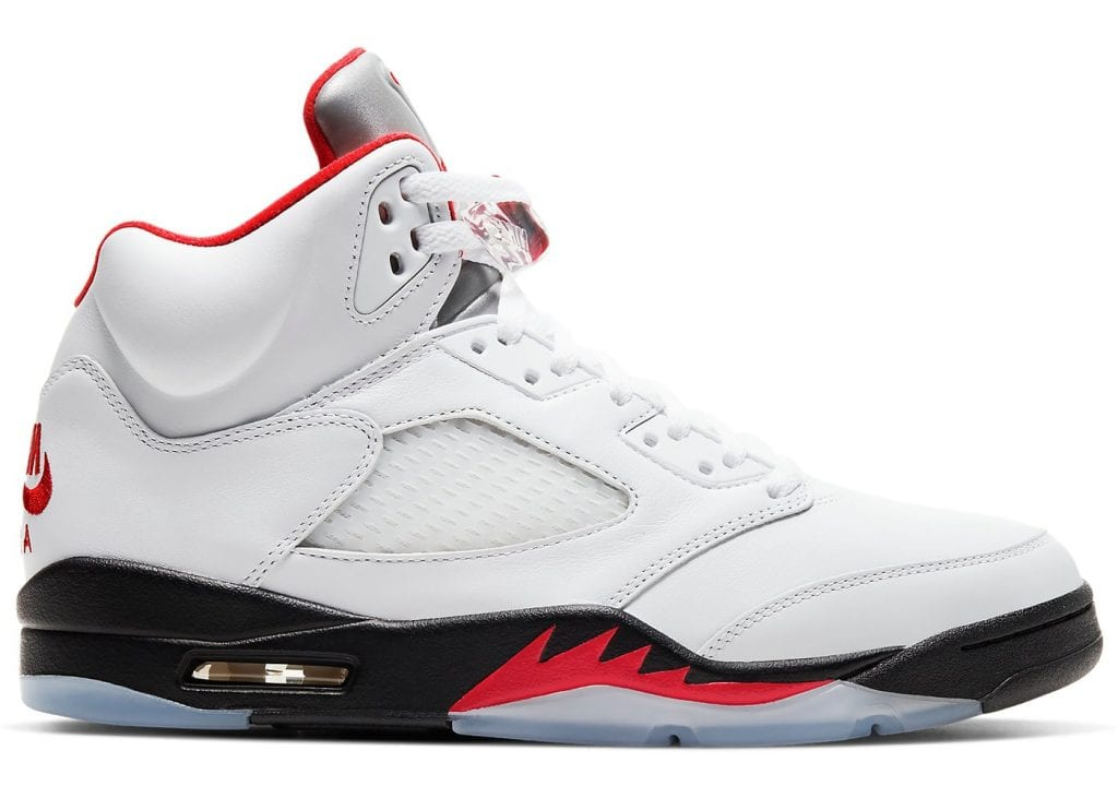 air jordan 5 fire red zapas news