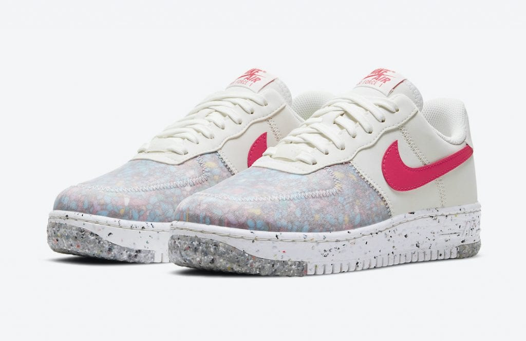 nike air force 1 crater siren red
