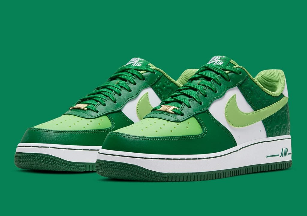 "Nike Air Force 1 Low Para El ""St. Patrick's Day"""