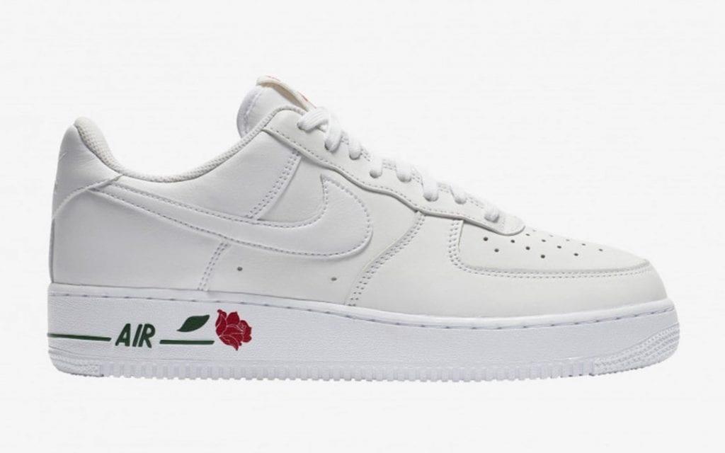 nike air force 1 low rose