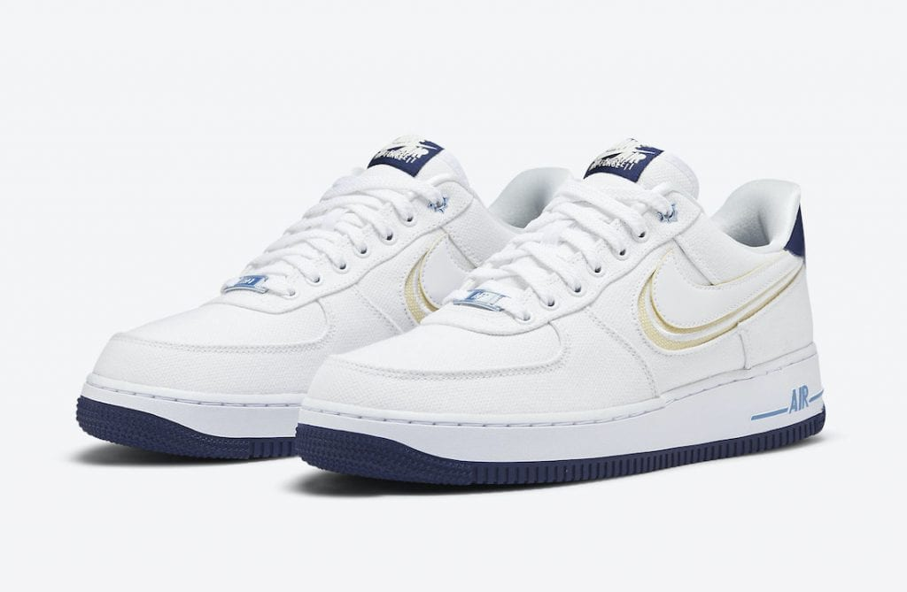 nike air force 1 low white canvas