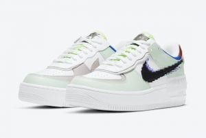 "Nike Air Force 1 Shadow ""Pixel"" Con Los Swooshes Pixelados"