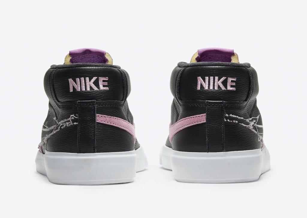 Nike SB Blazer Mid Edge en Purple Nebula y Pink Rise, Zapas News