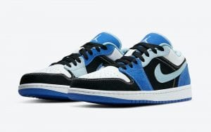 Air Jordan 1 Low En Negro Y Azul zapas news