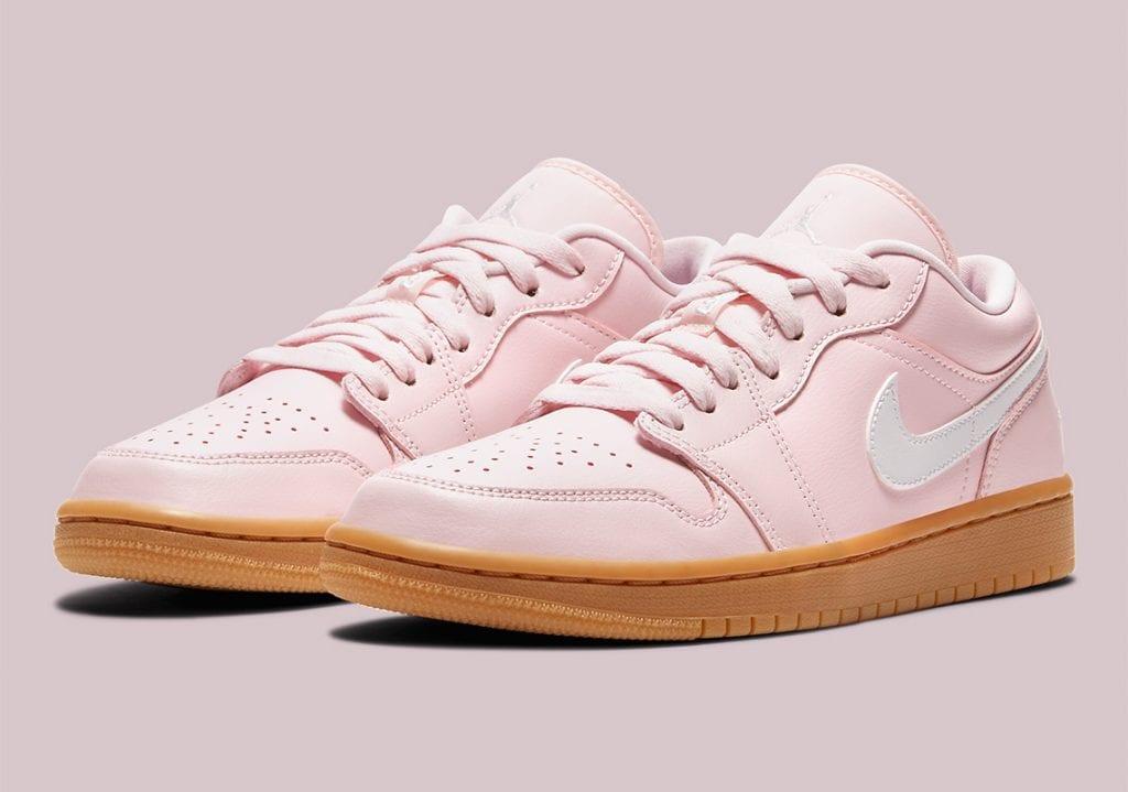 air jordan 1 low arctic pink