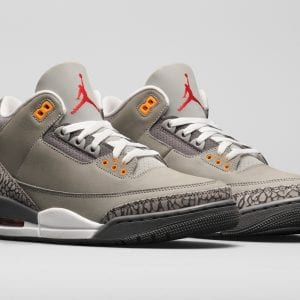 Zapas News Air Jordan 3 Cool Grey