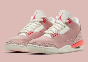 "Air Jordan 3 Exclusivo Para Mujeres En Color ""Rust Pink"""