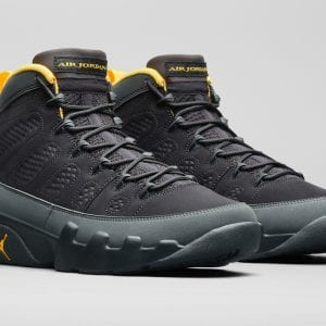 Zapas News Air Jordan 9 Dark Charcoal Gold