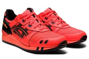 Asics Gel Lyte III sunrise red