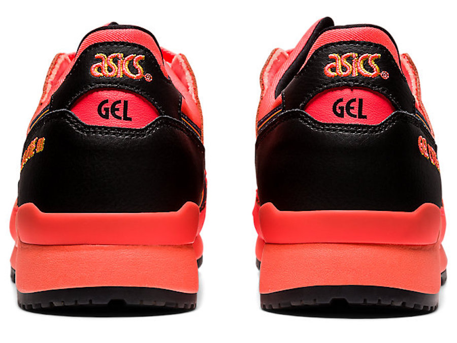 Asics Gel Lyte III sunrise red