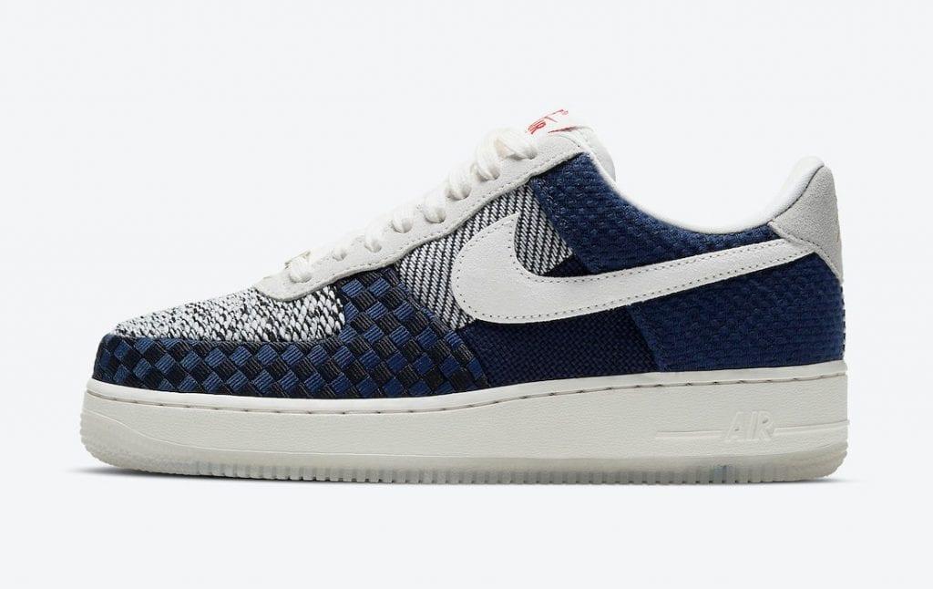 Nike Air Force 1 'Sashiko' en imágenes oficiales, Zapas News