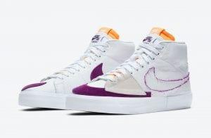Nike SB Blazer Mid Edge En Colores De Los Lakers