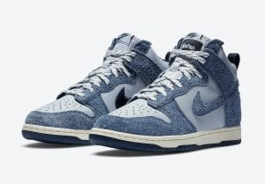 Notre X Nike Dunk High 'Midnight Navy'