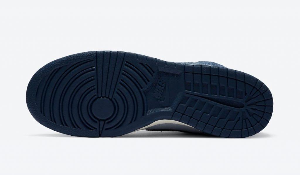 Notre X Nike Dunk High 'Midnight Navy'