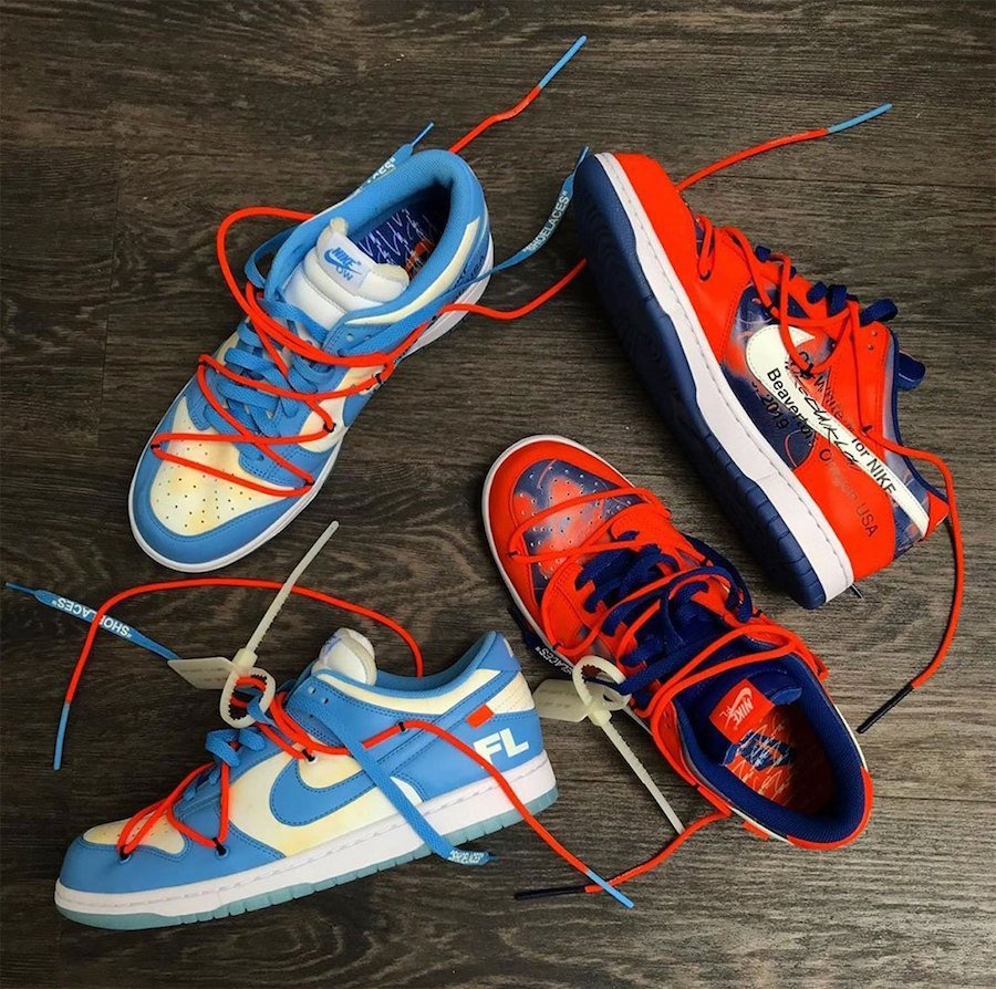 Off-White X Futura X Nike Dunk Lows