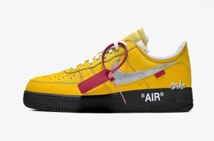Off-White x Nike Air Force 1 Low 'University Gold'