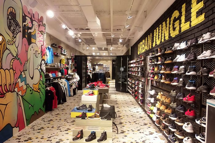 urban jungle tienda de sneakers