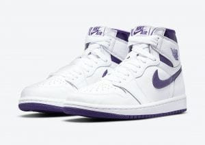 "Air Jordan 1 Retro High OG WMNS ""Court Purple"""