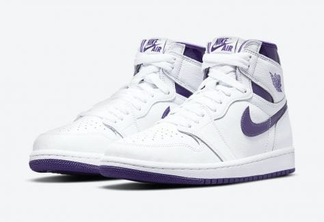 "Air Jordan 1 Retro High OG WMNS ""Court Purple"""