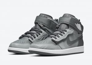 "Air Jordan 1 FlyEase Renace Con El Color ""Cool Grey"""