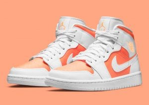 "Air Jordan 1 Mid ""Bright Citrus"" Con Colores Primaverales"