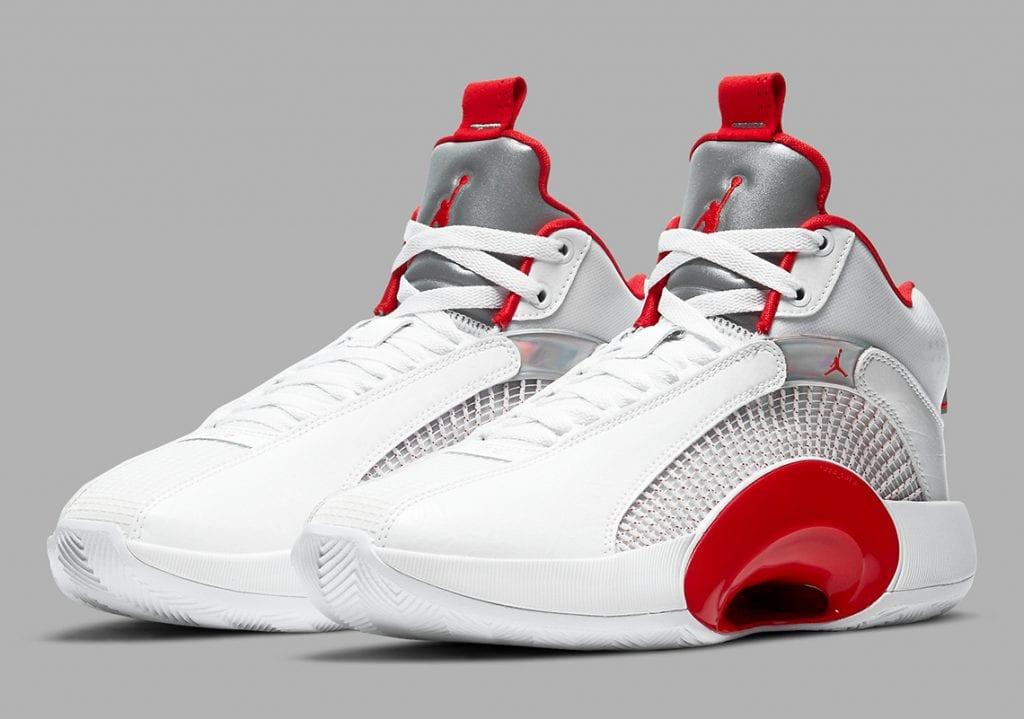 """Air Jordan 35 """"Fire Red"""" A La Vista"""