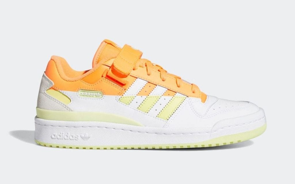 Adidas Forum Low Premium 'Screaming Orange'