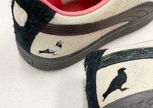 "Puma Suede ""Pigeon And Crow"" De Atmos Y Staple"