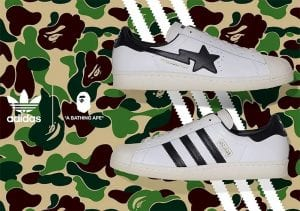 Bape X Adidas Superstars A La Vista