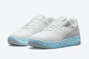 Nike Air Force 1 Crater Flyknit En Blanco Y Con Materiales Reciclados