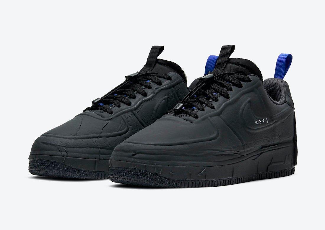 Nike Air Force 1 Experimental En Negro