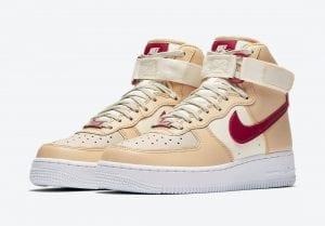 Nike Air Force 1 High Con Tonos De La Mars Yard
