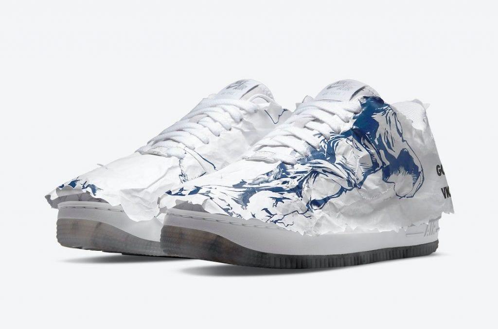 Nike Air Force 1 Shadow 'Goddess Of Victory' Envuelta En Papel