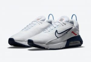Nike Air Max 2090 En Blanco Y Azul Marino