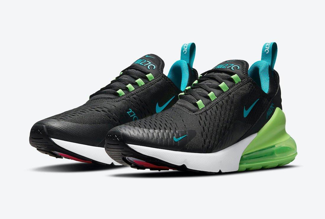 Nike Air Max 270 En Colores Neón