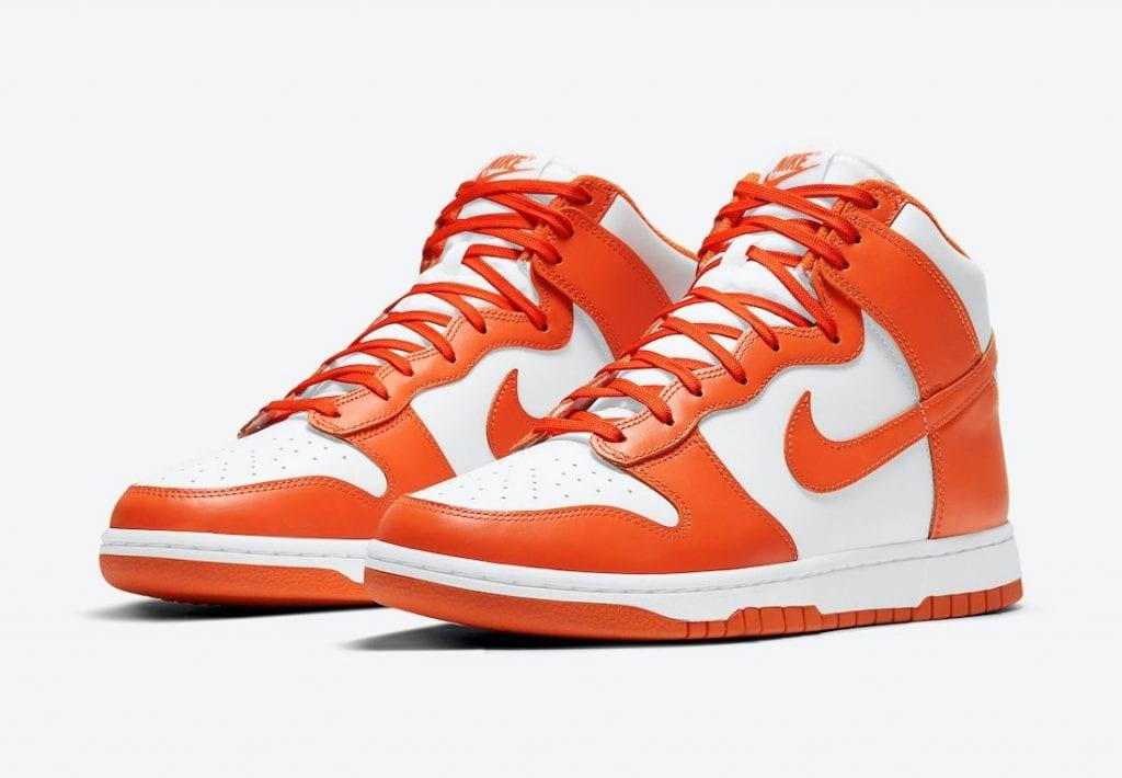 Nike Dunk High 'Syracuse' En Imágenes Oficiales