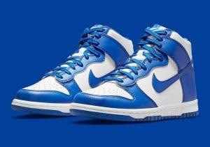"Nike Dunk High ""Game Royal"" En Imágenes Oficiales"