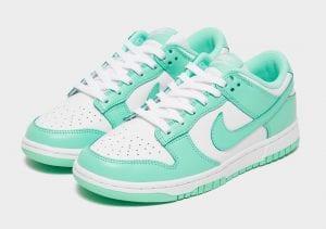 Las Nike Dunk Low 'Green Glow' Para Mujeres Están Cerca
