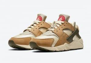 Stussy X Nike Air Huarache 'Desert Oak' - Fecha De Lanzamiento