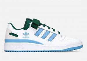 Adidas Forum Low En Azul UNC Y Verde Spartan